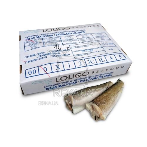 Хек тушка (Мерлуза) размер 100-200 Loligo Seafood (Фолклендские о-ва)