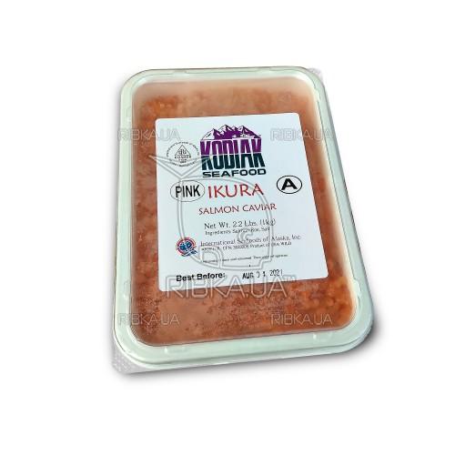 Икра горбуши солёно-мороженая KODIAK (1 кг) А