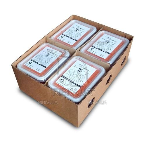 Икра кеты шоковой заморозки ICICLE C (1 ящик) - 12 пачек по 1 кг