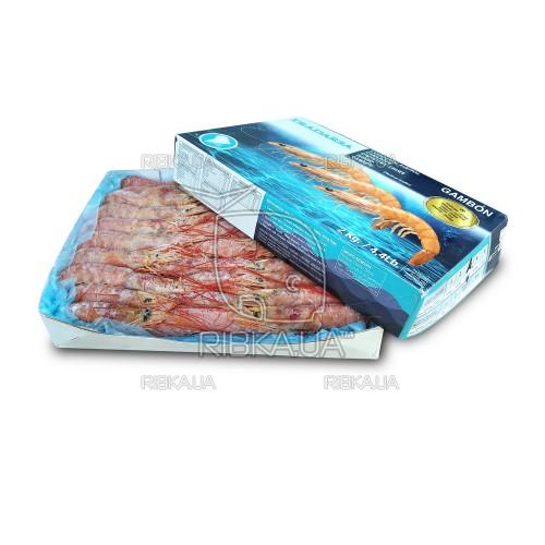 Креветка аргентинская в панцире с/м 31-40  (2 кг)