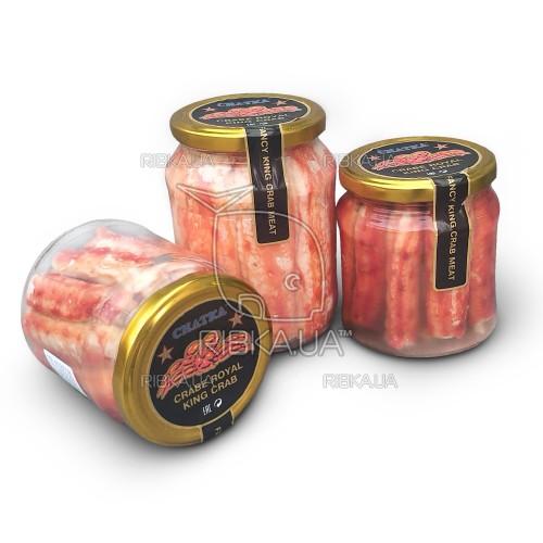 Краб камчатский натуральный (450 гр) Чатка