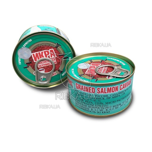 Икра лососевая кеты Парсах (140 грамм)