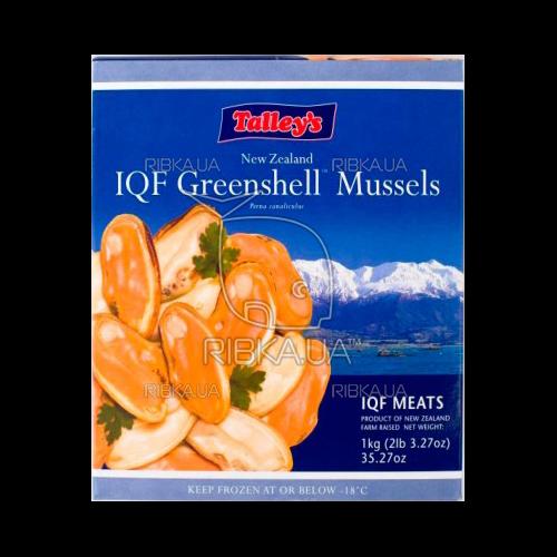 Мясо новозеландской мидии в/м 40-60 Talleys (карт.коробка)