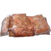 Кусочки лосося крупные в вакуумной упаковке б/ш с/м (2,5 кг)