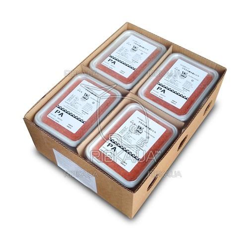 Икра горбуши солёно-мороженая ICICLE PА сорт 2 (1 ящик) - 12 пачек по 1 кг.