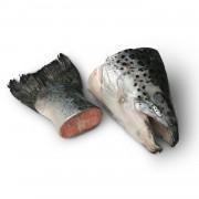 Суповой набор из обрезков сёмги и форели (лосося)