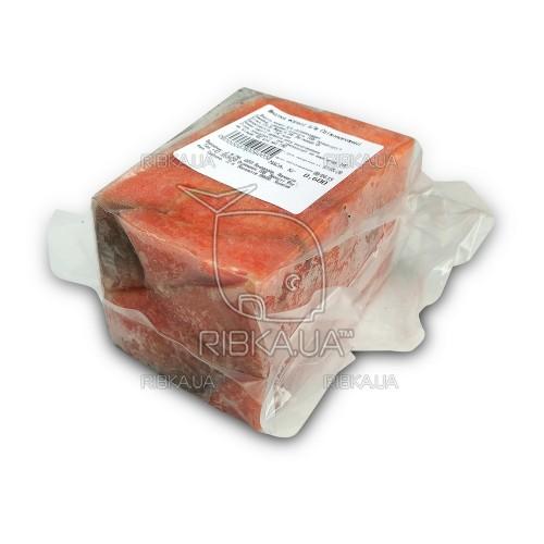 Кусочки форели без шкуры в вакуумной упаковке с/м