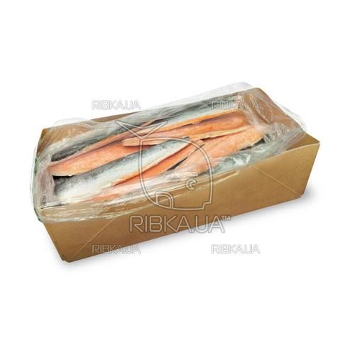 Филе лосося на шкуре 0,8+ (25 кг)