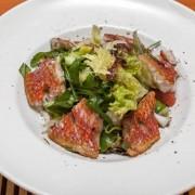 Салат из филе барабульки