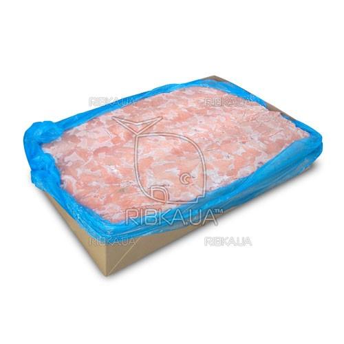 Кусочки лосося без шкуры в пластах с/м (20 кг) (Норвегия)
