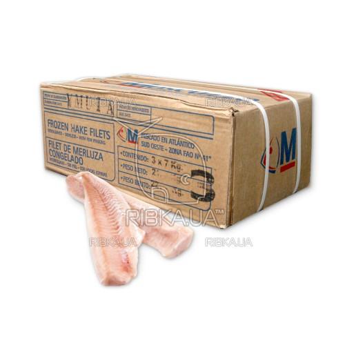 Филе мерлузы (хека) (60-120 гр.) без шкуры с/м