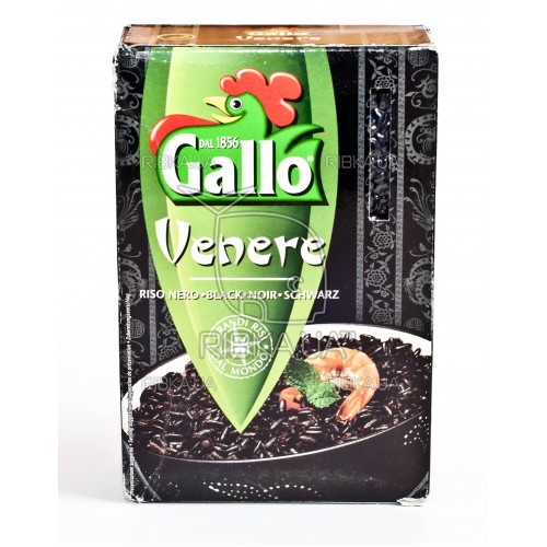 Рис Gallo черный дикий рис