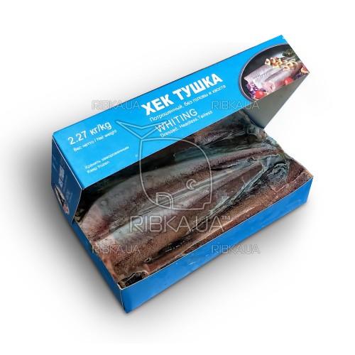 Хек тушка (Мерлуза) размер 200-400 Pacific Fisher (США) (2,27 кг)