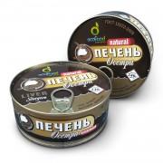 Печень осетра ж/б Экофуд (240 грамм)