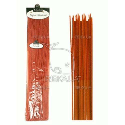 Макароны Marabotto. Спагетти длинные с паприкой