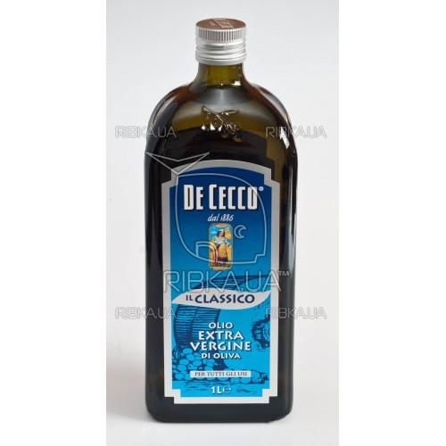 Масло оливковое De Cecco Extra Vergine 1л