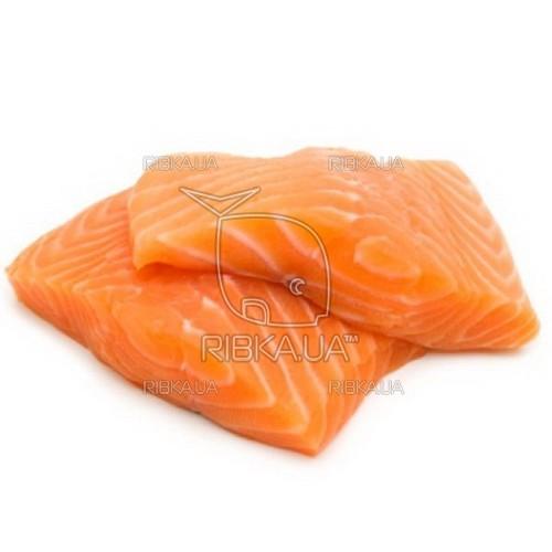 Сёмга филе слабосоленое, без шкуры