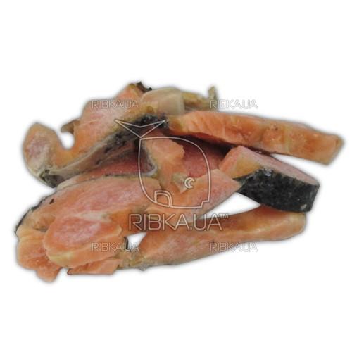 Суповой набор из обрезков сёмги и форели (лосося) свежемороженый