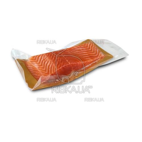 Сёмга филе слабосоленое на шкуре 300 грамм