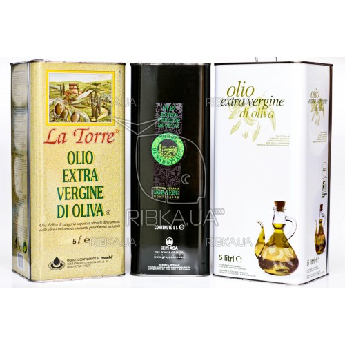 Масло оливковое Extra Vergine 5 л.