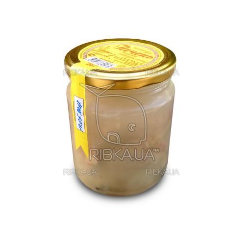 Печень трески в стекле (500 грамм)
