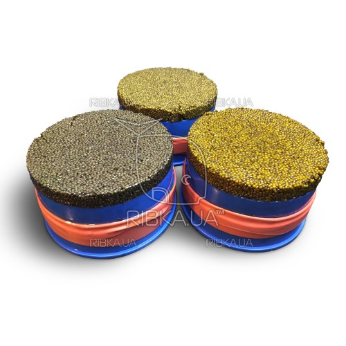 Черная икра осетра CAVIAR MALOSSOL PREMIUM, 1,7 кг в кубитейнере.