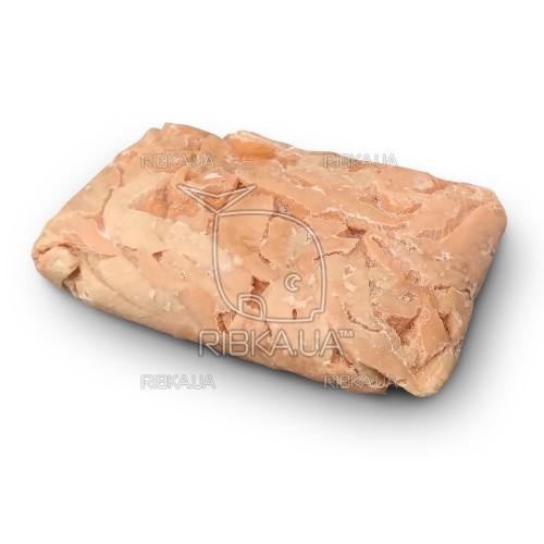 Кусочки лосося в вакуумной упаковке б/ш с/м (5 кг) Чили