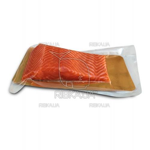 Сёмга филе холодного копчения на шкуре  300 грамм