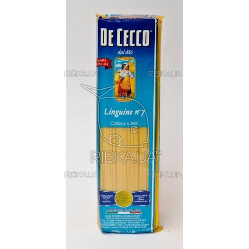 Макароны De Cecco Linguine №7