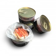 Мясо краба в собственном соку CHATKA ж/б (240 гр)