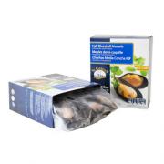 Мидии в полуракушке в/м 40-60 Chiloe Seafood (Чили) (1 кг)