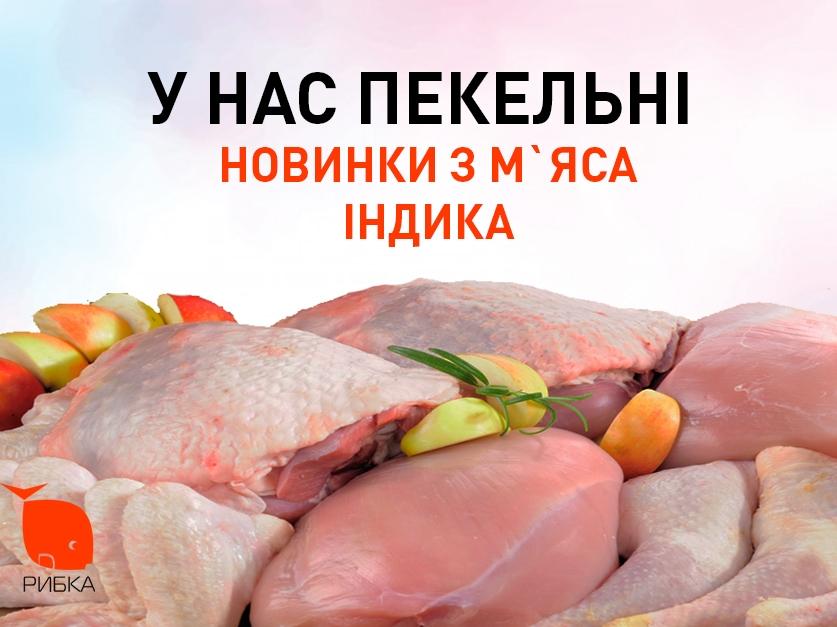 Встречайте индейку, лучший мясной выбор в Украине