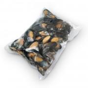 Мидии в полуракушке в/м 80-100 Blue Shell (Чили) (1 кг)
