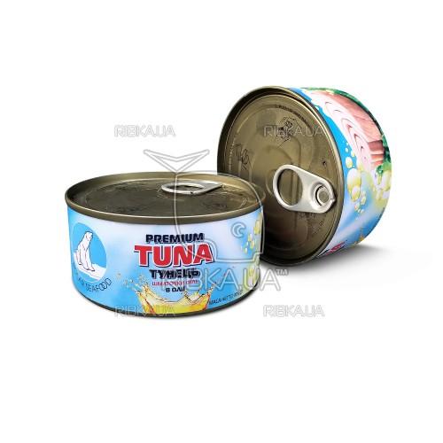 Тунец салатный в масле ж/б (185 грамм)