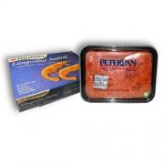 Комплект креветка в панцире 21-30 + икра горбуши Питер Пен 500 гр.