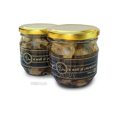 Рапана черноморская в масле со специями (200 грамм)