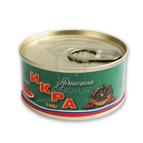 Икра лососевая зернистая ж/б (100 гр.)