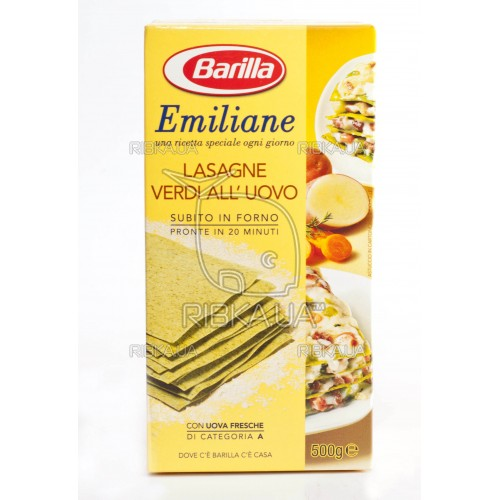 Макароны Barilla Lasagna all'Uovo