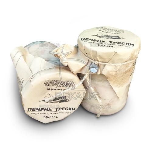 Печень трески Баренцево море (500 грамм)
