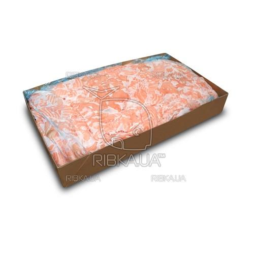 Кусочки лосося без шкуры в пластах с/м (10 кг) (Норвегия)