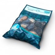 Мидии в полуракушке в/м 40-60 Polar Seafood (1 кг)