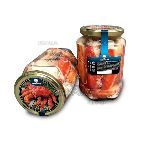 Краб камчатский натуральный (720 гр) Чатка